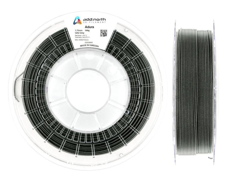 Adura™ - 1.75mm - 500g - Glitz Grey