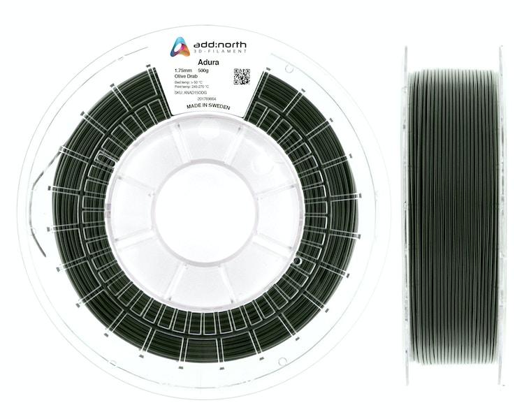Adura™ - 1.75mm - 500g - Olive Drab