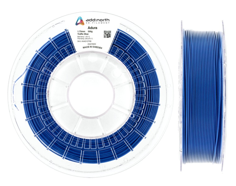 Adura™ - 1.75mm - 500g - Traffic Blue