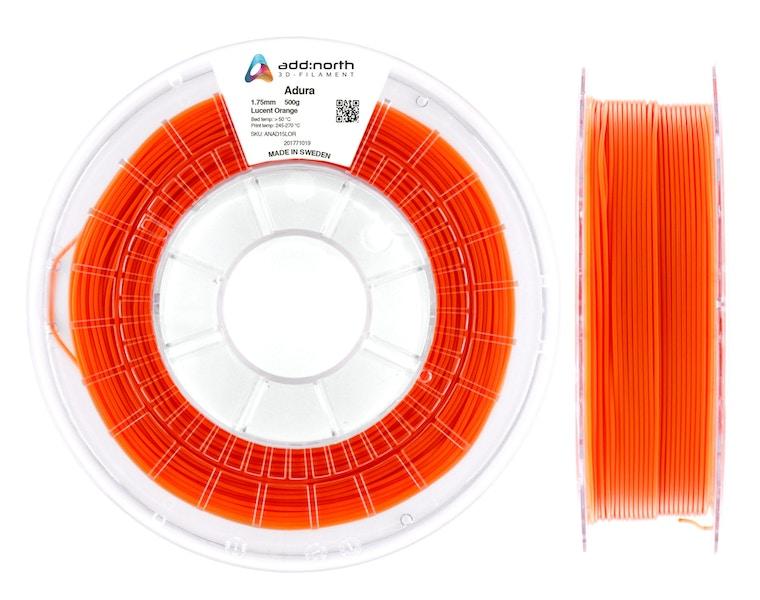 Adura™ - 2.85mm - 500g - Lucent Orange