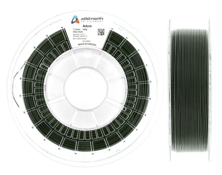 Adura™ - 2.85mm - 500g - Olive Drab