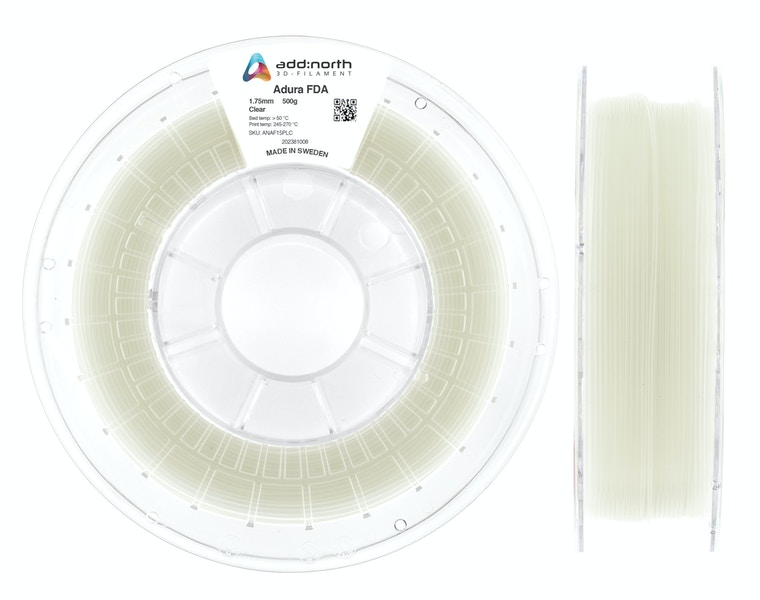 Adura™ FDA - 2.85mm - 500g - Clear