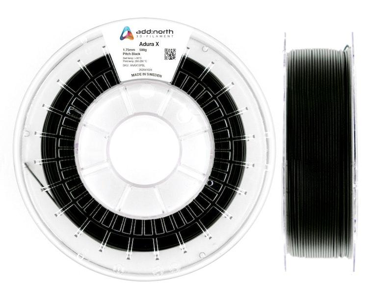 Adura™ X - 1.75mm - 500g - Pitch Black
