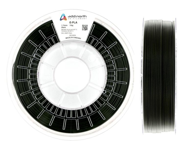E-PLA - 1.75mm - 750g - Black