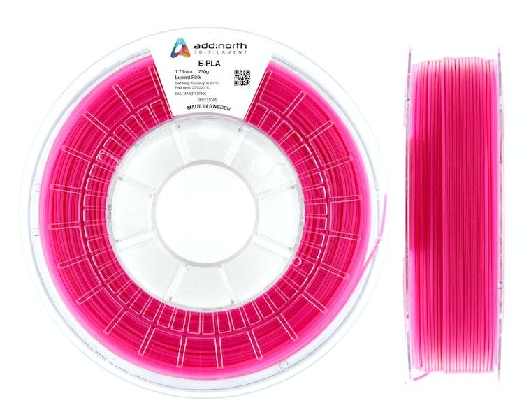 E-PLA - 1.75mm - 750g - Lucent Pink