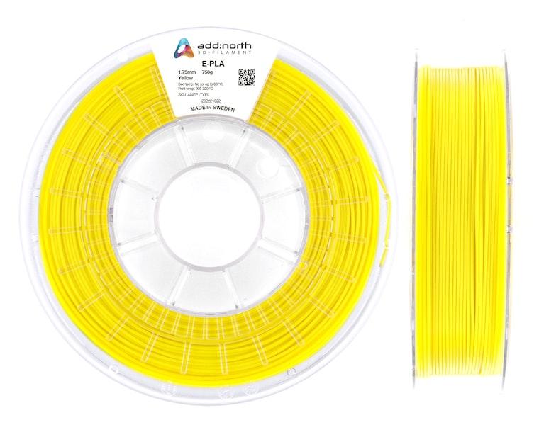 E-PLA - 1.75mm - 750g - Yellow
