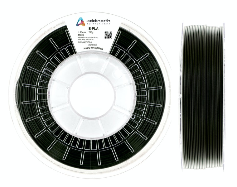 E-PLA - 2.85mm - 750g - Black