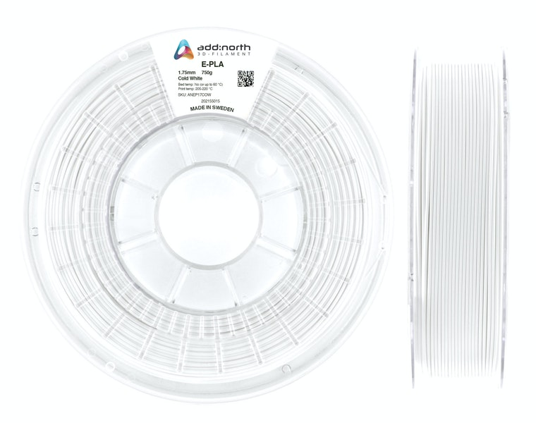 E-PLA - 2.85mm - 750g - Cold White