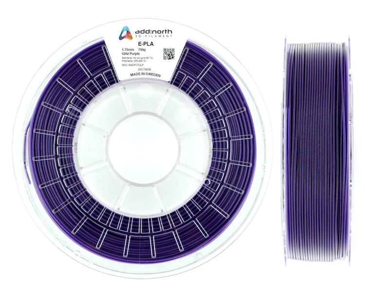 E-PLA - 2.85mm - 750g - Glitz Purple