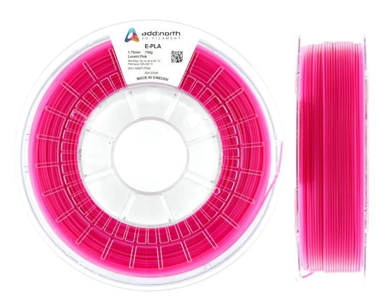 E-PLA - 2.85mm - 750g - Lucent Pink