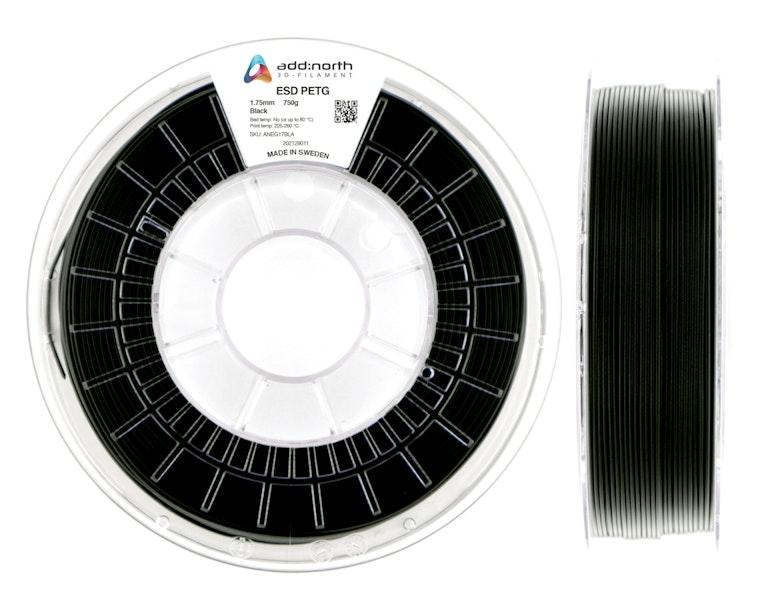 ESD PETG - 2.85mm - 750g - Black