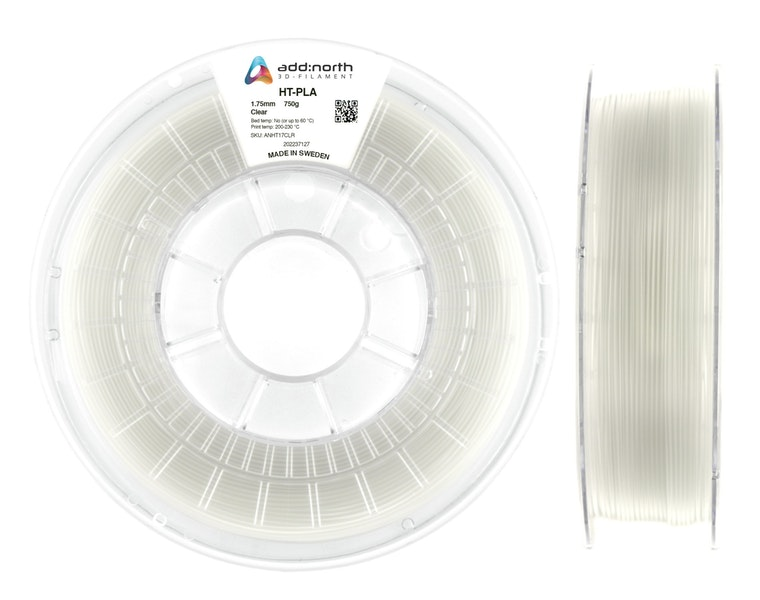 HT-PLA - 1.75mm - 750g - Clear