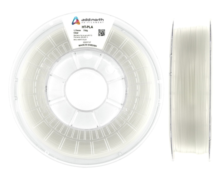 HT-PLA - 2.85mm - 750g - Clear
