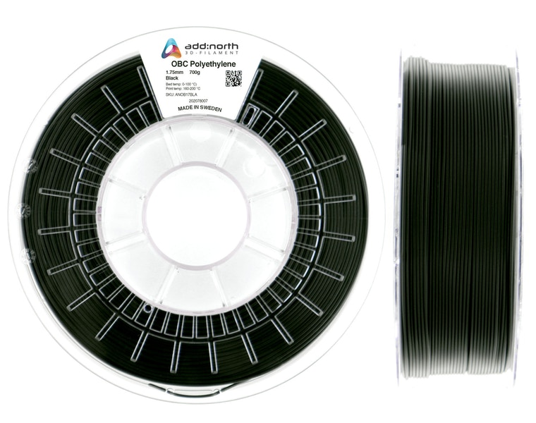 OBC Polyethylene - 1.75mm - 700g - Black