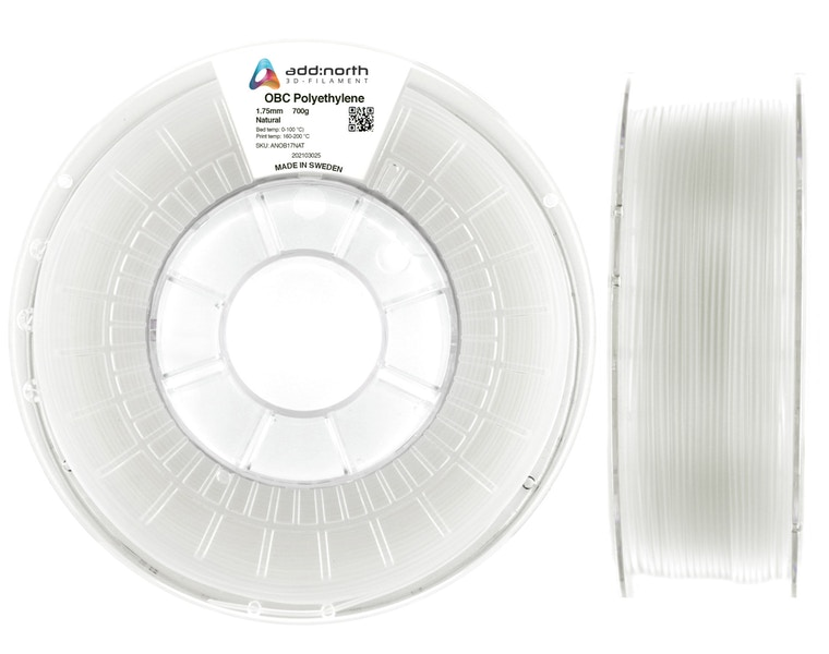 OBC Polyethylene - 1.75mm - 700g - Natural