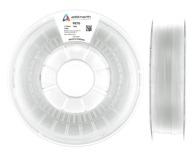 PETG - 2.85mm - 750g - Clear