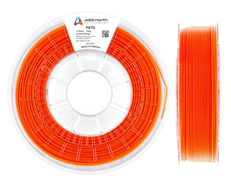 PETG - 2.85mm - 750g - Lucent Orange