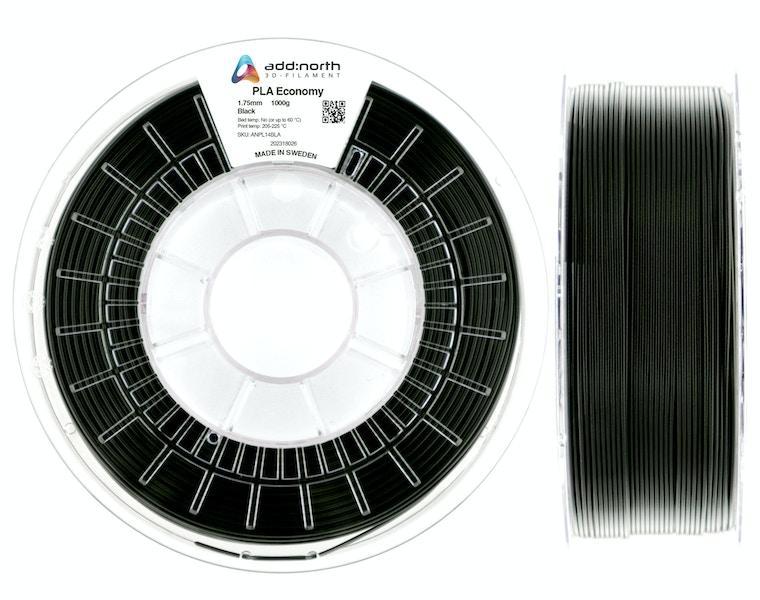 PLA Economy - 1.75mm - 1000g - Black