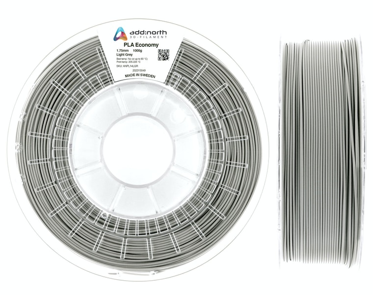 PLA Economy - 1.75mm - 1000g - Light Grey