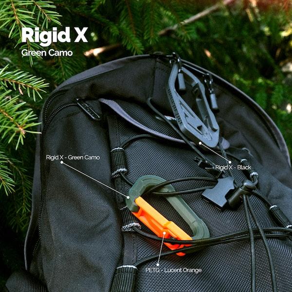 Rigid X - 1.75mm - 500g - Green Camo