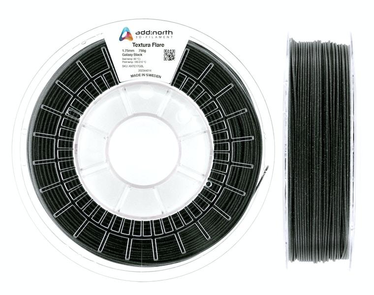 Textura™ Flare - 1.75mm - 750g - Galaxy Black