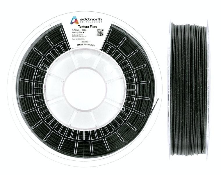 Textura™ Flare - 2.85mm - 750g - Galaxy Black