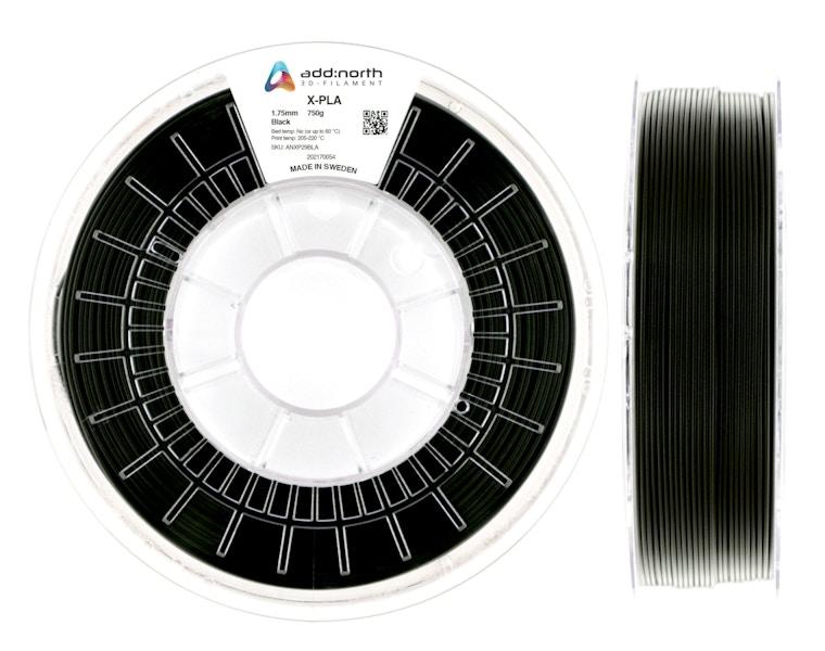 X-PLA - 1.75mm - 750g - Black