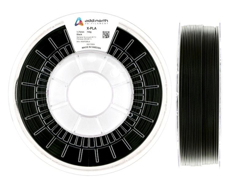 X-PLA - 2.85mm - 750g - Black