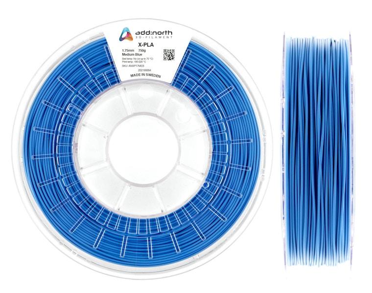 X-PLA - 2.85mm - 750g - Medium Blue