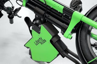 End-use parts for customized electronic wheelchair solutions with AduraX