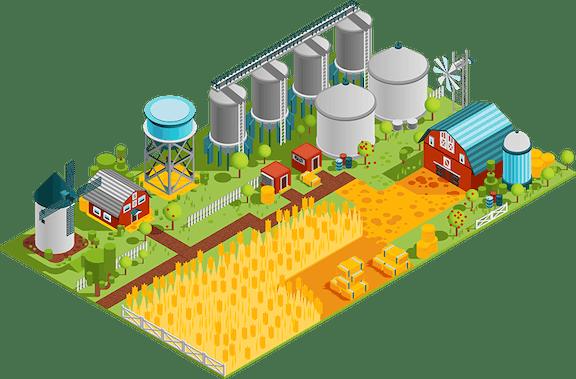Origin / production of PLA